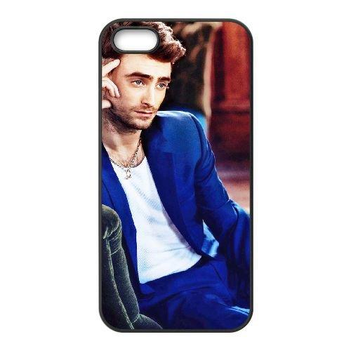 Daniel Radcliffe 001 coque iPhone 4 4S cellulaire cas coque de téléphone cas téléphone cellulaire noir couvercle EEEXLKNBC24402