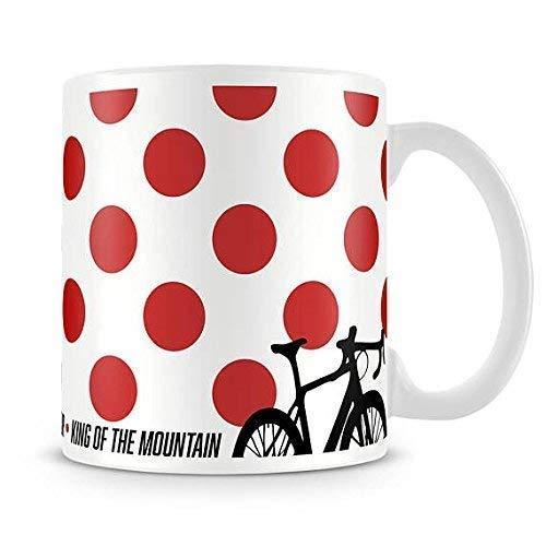 PeachyApricot King of the Mountain Cycling Jersey 11 Ounce Coffee Mug