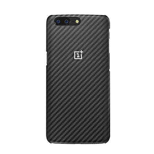 Price comparison product image OnePlus 5 Protective Case, Karbon Sandstone Ebony Wood RoseWood Case Cover with One Plus 5 Original Individually Retail Package (OnePlus 5 Karbon)