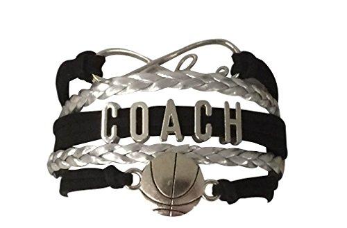 Basketball Coach Bracelet, Basketball Coach Gift- Basketball Jewelry For Coaches