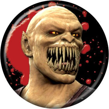 Mortal Kombat - Baraka - Pinback Button 1.25