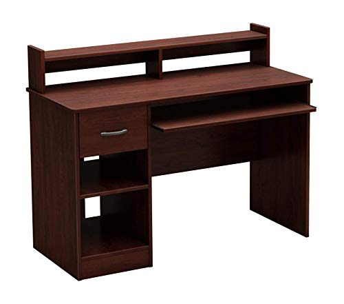 Sоuth Shоrе Desk with Keyboard Tray, Royal Cherry ()