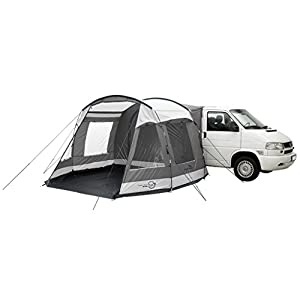 Easycamp Waterproof Shamrock Unisex Outdoor Hiking Awning Tent, Grey, One Size