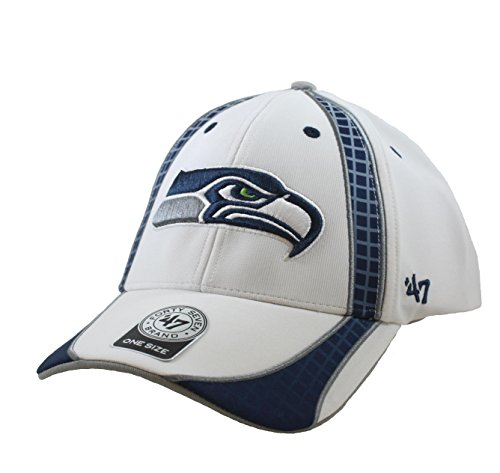 '47 NFL Seattle Seahawks Embroidered Performance Fabric Structured Cap