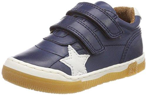 Bisgaard Unisex-Kinder Klettschuhe Low-Top Blau (Navy)