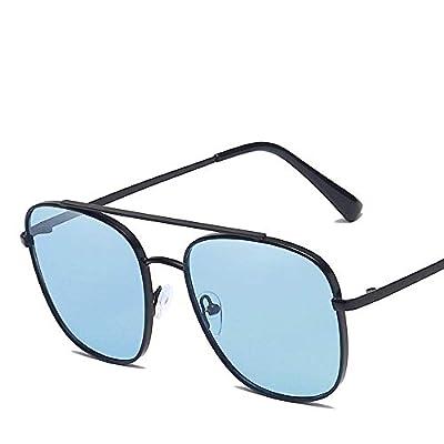 FeliciaJuan Sport Aviator Sunglasses Mens Women Polarized Lens Metal Frame