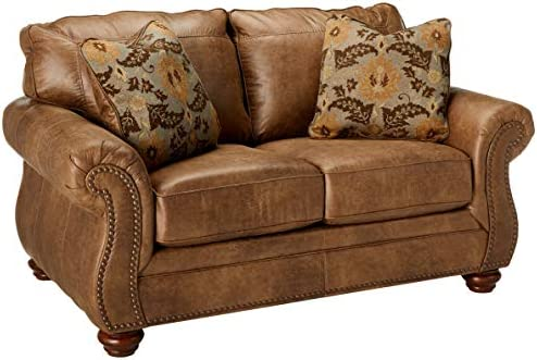 picture of Signature Design by Ashley » Larkinhurst Contemporary Loveseat, Earth