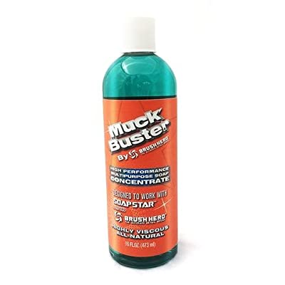 MUCK BUSTER High Performance Viscous, All-Natural, Biodegradable Multipurpose Soap Concentrate for Car Wash, Home and Garden 16 oz.