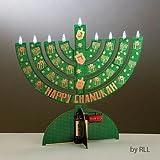 Judaica Electronic LED Menorah