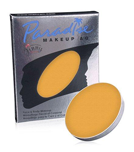 Mehron Makeup Paradise Makeup AQ Refill (.25 oz) (ORANGE)