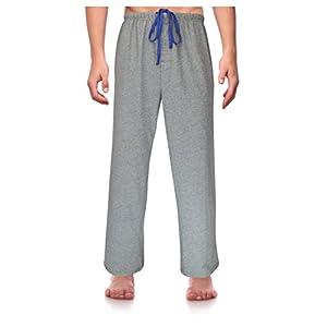 RK Classical Sleepwear Men's Knit Pajama Pants,