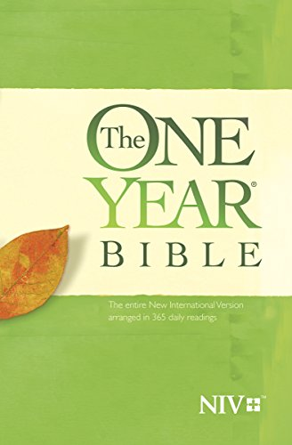 The One Year Bible NIV (Best Resume In 2019)