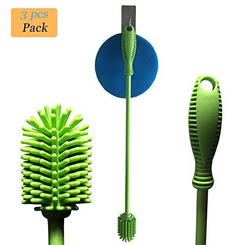 - Baby Bottle Brush, Silicone Bottle Brush Cleaner, KoHuiJoo 15