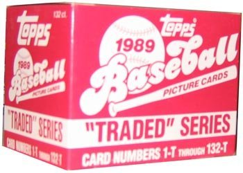 1989 Topps Traded Series Baseball Set - 132 CARDS WITH KEN GRIFFEY JR & RANDY JOHNSON ROOKIES FREE ()