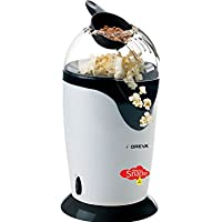 Oreva Plastic and Aluminum Popcorn Machine (Black)