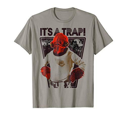 Star Wars Ackbar It's a Trap Graphic T-Shirt