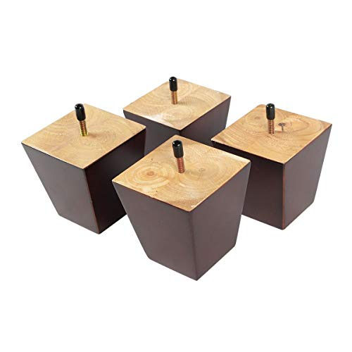 wood furniture feet set of 4 - 4