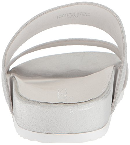 Silver J J Cracked Slides Slides qF0taT4