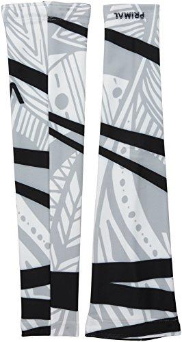 Primal Wear Fringe Couture Women's Arm Warmers, White, Medium