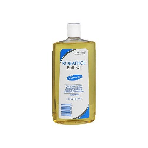 RoBathol Bath Oil, Sensitive Skin - 16 oz, Pack of 2 PHARMACEUTICAL SPECIALTIE