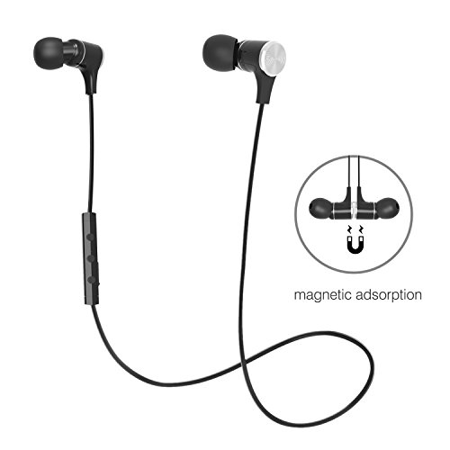 Bluetooth 4.1 In Ear Headphones Wireless Earbuds S...