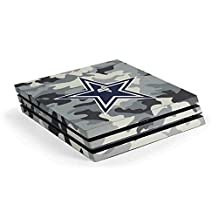 NFL Dallas Cowboys PS4 Pro Console Skin - Dallas Cowboys Camo Vinyl Decal Skin For Your PS4 Pro Console