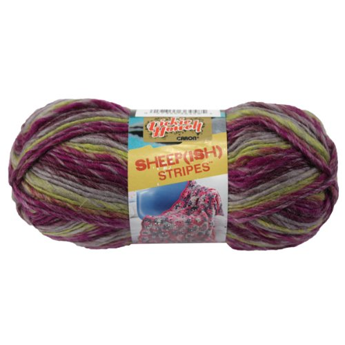 (Brand New Sheep(ish) Stripes Yarn By Vickie Howell-Punk(ish) Brand New)