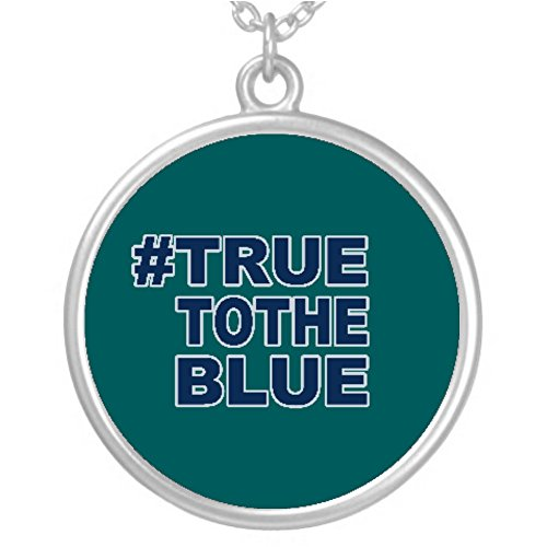 #TRUETOTHEBLUE Necklace for the Mariners Fan!