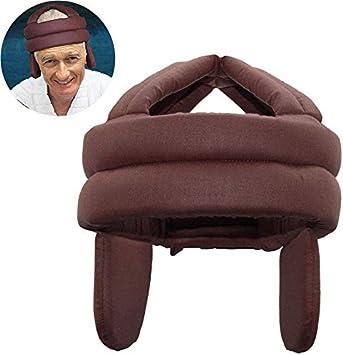 SJYD Transpirable Sombrero de Protecci/ón de Ancianos for prevenci/ón de ca/ídas y Golpes Anti Caer la Cabeza de Esponja de Seguridad 630 Cap Jefe Superior y Paciente con el o/ído Lateral Protect
