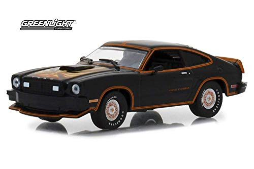 1978 Ford Mustang Ii King Cobra Black & Gold 1/43 Greenlight Preto