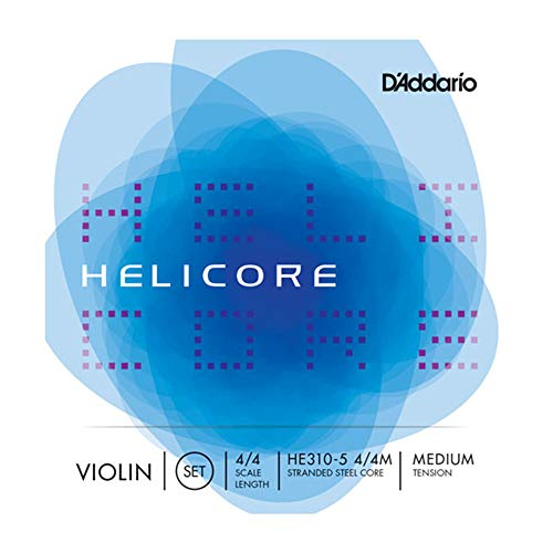 D'Addario Helicore Violin 5-String Set, 4/4 Scale, Medium Tension ()