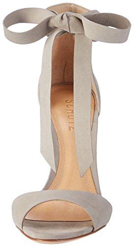 Schutz S0-13870964, Sandali con Cinturino alla Caviglia Donna Grigio (Ciment Ciment)