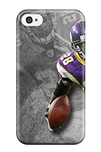 New Style AnnaSanders Protective Case For Iphone 4/4s(adrian Peterson Football)