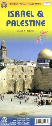 1. Israel & Palestine 1:225K Travel Ref 2014 Water Proof