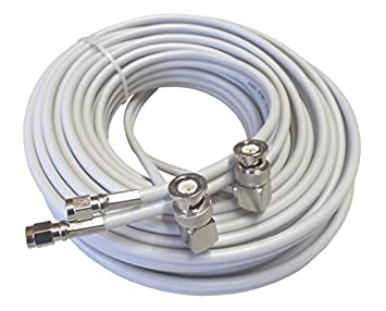 5 m alta calidad Low Loss Twin de cable coaxial de antena ...
