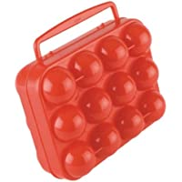 Coleman 2000003369 12 Count Egg Container, Red