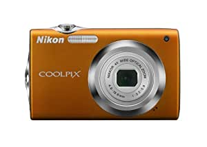 Nikon Coolpix S3000 12 MP Digital Camera with 4x Optical Vibration Reduction (VR) Zoom and 2.7-Inch LCD (Orange)
