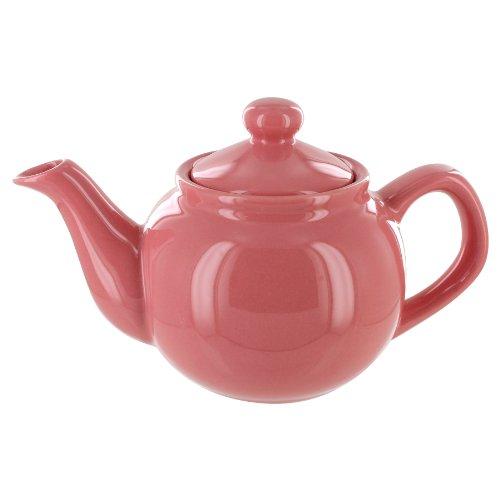 English Tea Store 2 Cup Teapot Rose Gloss Finish