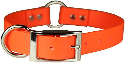 OmniPet Zeta Ring in Center with Dee Dog Collar, 1 x 20, Orange