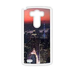 Creative phone case for LG G3,city night design by lolosakes