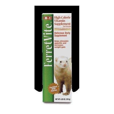 (eCOTRITION Ferretvite Daily Vitamin for Small Animal - 4.25 oz. (Paste) [Set of 5])