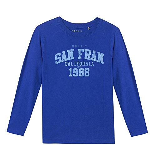 Esprit Kids Jungen T-Shirt RI1009E, Blau (Royalblau 410), 104