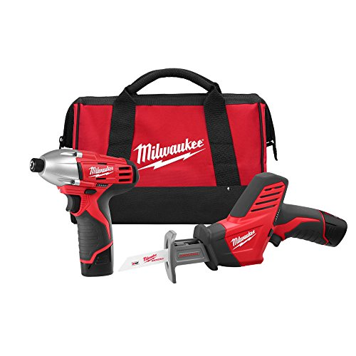 Milwaukee 2491-22 M12 12-Volt Cordless Power Lithium-Ion 2-Tool Combo Kit (item_by#MaxTool Super Sale ,ket362121978762284 by itonotry