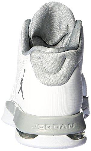 Grey Wolf 5 Jordan nbsp;AM Nike Gris Chaussures sport Blanco de White Pvz7Twq