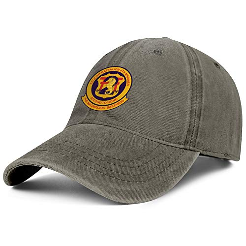2nd Battalion, 4th Marines Retro Washed Distressed Baseball Caps Classic Twill Jean Hats Men