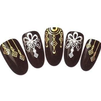 Nail'z - Stickers Ongles - Couleur : Argentés Bijoux Nail' z