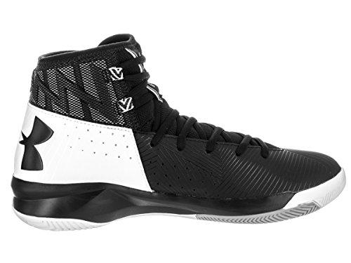 Black Black White Men Ua Under Armour Basketball Shoes 2 Rocket OfB7n6zqA