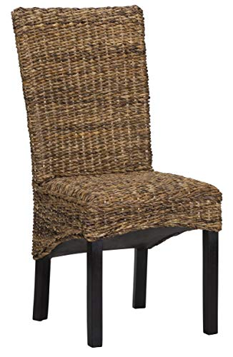 Louis Rattan Side Chair (Wicker Chairs Vintage)