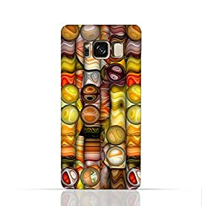 Samsung Galaxy S8 TPU Silicone Case with Abstract Bubble Background