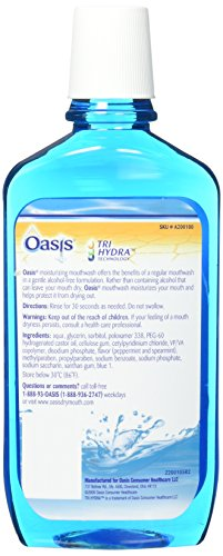 Oasis Mouthwash 16 oz. 6 Pack